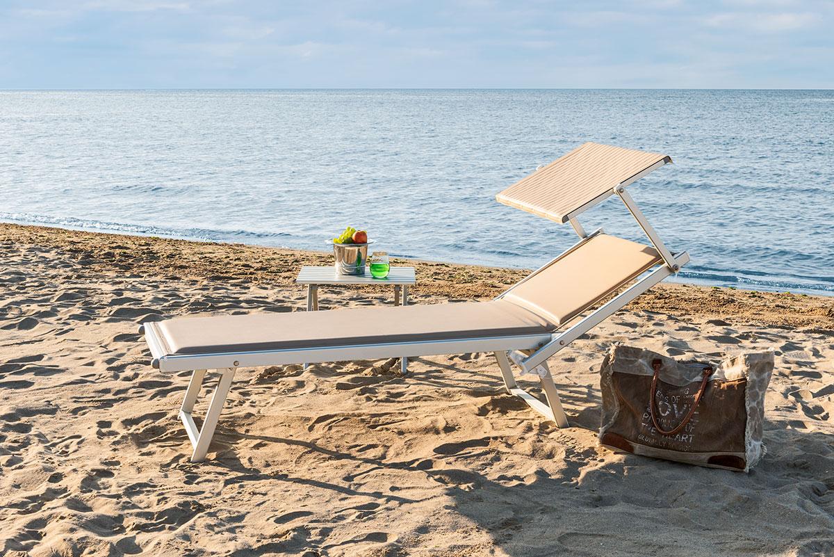 Sdraio Da Spiaggia Prezzi.Imbottito Lettino Prendisole Da Spiaggia Miglior Prezzo Lidi
