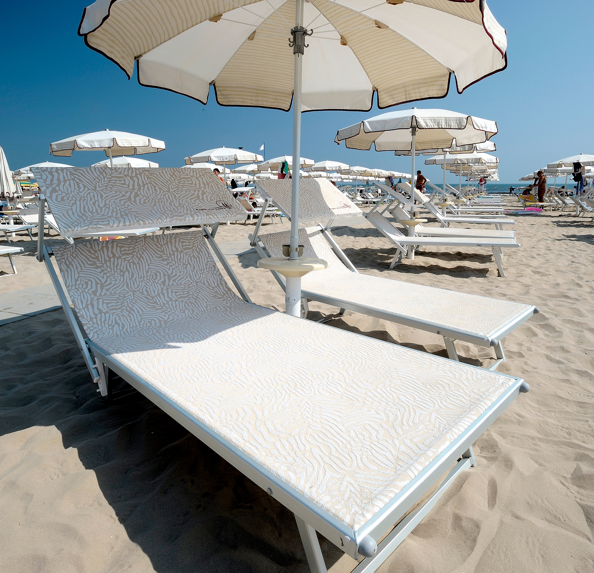 Sdraio Da Spiaggia Prezzi.Vip Lettino Da Spiaggia Miglior Prezzo Lidi Balneari
